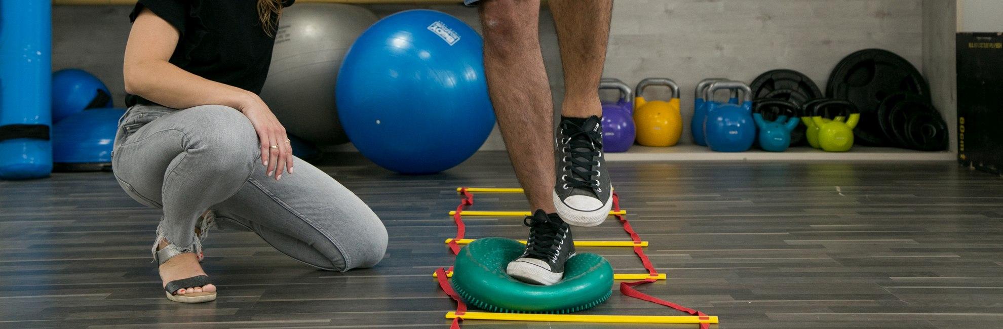 טיפולי פיזיותרפיה אזור כף הרגל